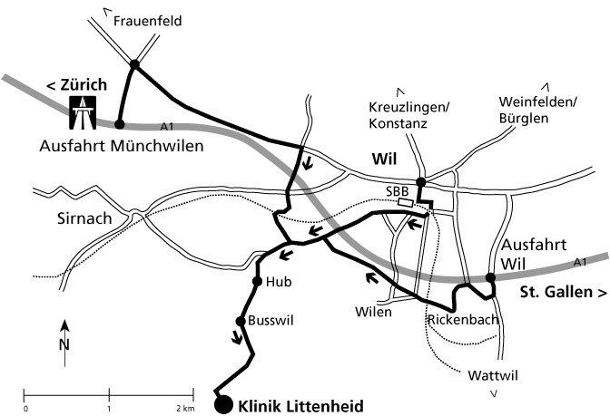 Map littenheid